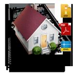 2D Plan-Erfassung über Architektenpläne DWG, DXF oder PDF Dateien erfassen