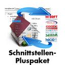 Schnittstellen-Pluspaket für eine automatische LV-Erstellung in Verbindung mit dem Leistungskatalog der Fa. DachTools